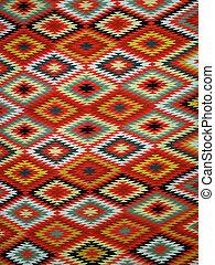 Diamond pattern Blanket Rug