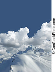 Diamond Peak in Garibaldi Mountain, BC, Canada