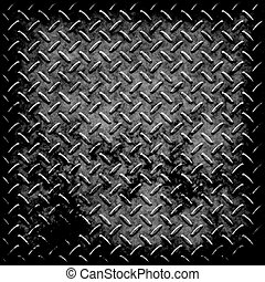 diamond plate metal texture - enormous sheet of diamond...