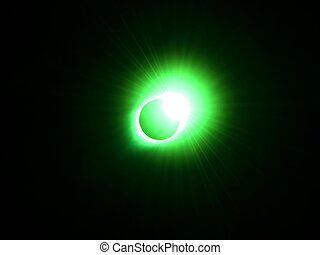 Diamond Ring of the Great American Eclipse