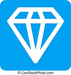 Diamond Rounded Square Vector Icon