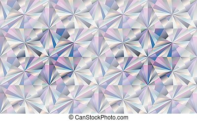 Diamond seamless background, vector illustration