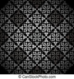 Diamond silver wallpaper