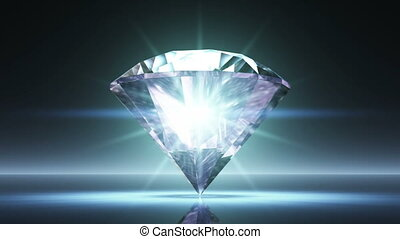 diamond  - spining diamond