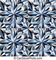 Diamond texture seamless, vector illustration