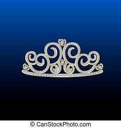 Diamond tiara gold.