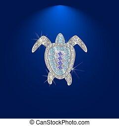 diamond tortoise 1