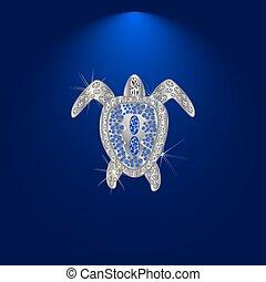 diamond tortoise.