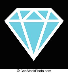 Diamond vector logo