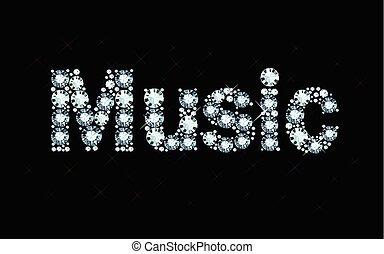 Diamond word music