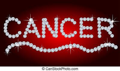 Diamond Zodiac Cancer