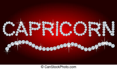 Diamond Zodiac Capricorn