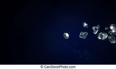 Diamonds Falling