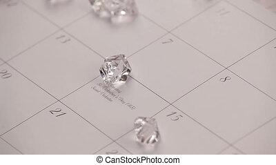Diamonds. HD