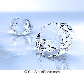 Two diamonds