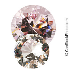 Diamonds with clipping path