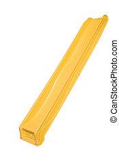 diapositiva, amarillo