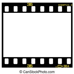 diapositiva, marco, película