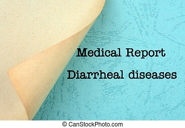 diarrheal, 疾病
