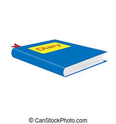 Diary. illustration