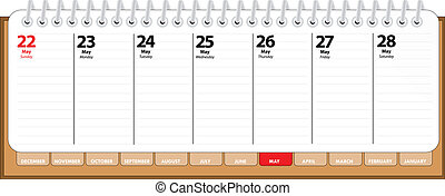 diary - may
