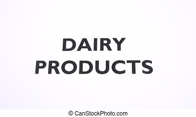 DIARY PRODUCTS prohibition symbol, lactose free, animal food...