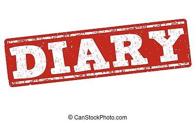 Diary stamp