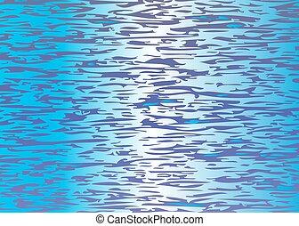 dibujo de agua, superficie
