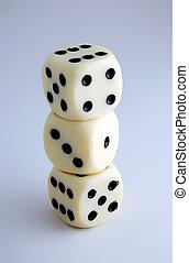 3 dices
