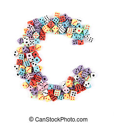 dice alphabet