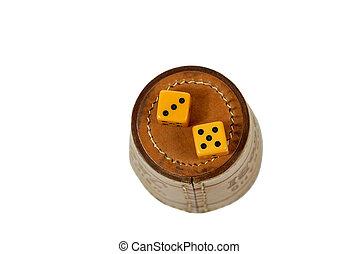 dice gambling eight