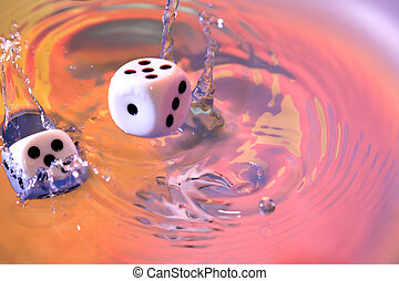 Dice Game In Water