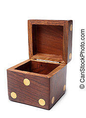 Dice wooden box
