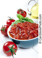 Diced Tomatoes - Diced and whole tomatoes, with olive oil ...