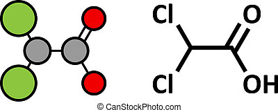 Dichloroacetic acid (DCA). Dichloroacetate salts inhibit the...