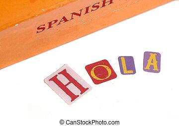 dicionário, espanhol