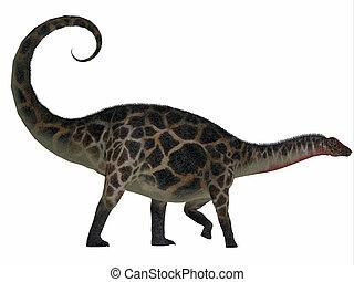 Dicraeosaurus Side Profile