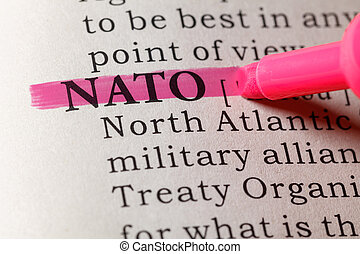 Dictionary definition of NATO - Fake Dictionary, Dictionary...