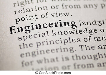 engineering - Dictionary definition of the word engineering....