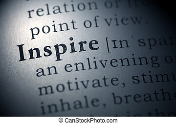 Inspire - Dictionary definition of the word Inspire.