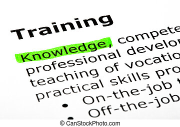 Dictionary Definition Of The Word Training