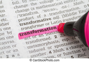 Dictionary definition transformation - Dictionary definition...