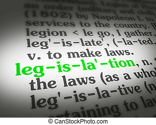 Dictionary Legislation