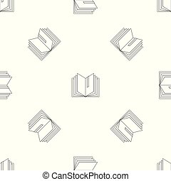 Dictionary pattern seamless vector