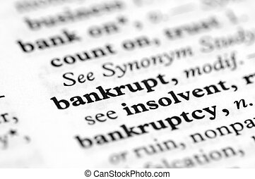 Dictionary Series - Bankrupt