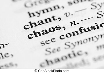 Dictionary Series - Chaos