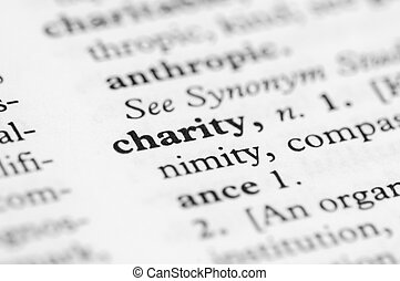 Dictionary Series - Charity