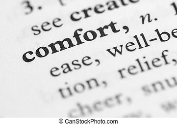 Dictionary Series - Comfort