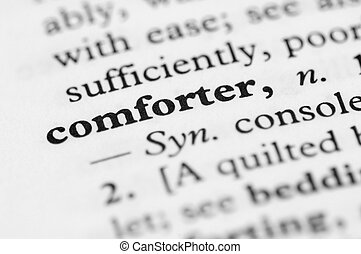 Dictionary Series - Comforter