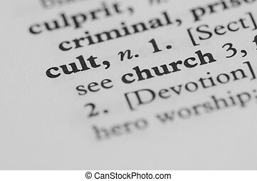 Dictionary Series - Cult